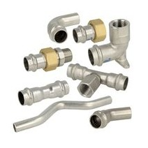 Stainless steel press fittings contour (V)