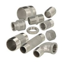 Stainless steel screw fittings