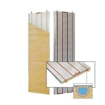Wall and ceiling heating/cooling panels